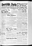 Spartan Daily, November 3, 1939