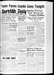 Spartan Daily, November 17, 1939 by San Jose State University, School of Journalism and Mass Communications