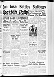 Spartan Daily, November 22, 1939 by San Jose State University, School of Journalism and Mass Communications