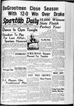 Spartan Daily, December 1, 1939