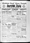 Spartan Daily, December 8, 1939