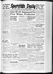Spartan Daily, January 10, 1940 by San Jose State University, School of Journalism and Mass Communications
