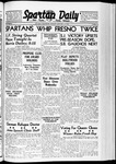 Spartan Daily, January 15, 1940 by San Jose State University, School of Journalism and Mass Communications