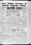 Spartan Daily, January 17, 1940 by San Jose State University, School of Journalism and Mass Communications