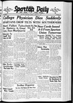 Spartan Daily, January 22, 1940 by San Jose State University, School of Journalism and Mass Communications