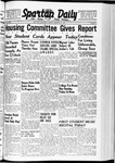 Spartan Daily, January 23, 1940 by San Jose State University, School of Journalism and Mass Communications