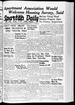 Spartan Daily, January 25, 1940 by San Jose State University, School of Journalism and Mass Communications