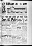 Spartan Daily, February 21, 1940 by San Jose State University, School of Journalism and Mass Communications