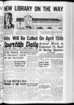 Spartan Daily, February 21, 1940
