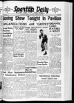 Spartan Daily, February 29, 1940 by San Jose State University, School of Journalism and Mass Communications