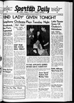 Spartan Daily, March 7, 1940 by San Jose State University, School of Journalism and Mass Communications