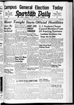 Spartan Daily, May 13, 1940 by San Jose State University, School of Journalism and Mass Communications