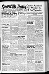 Spartan Daily, September 25, 1940 by San Jose State University, School of Journalism and Mass Communications