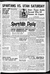 Spartan Daily, September 27, 1940 by San Jose State University, School of Journalism and Mass Communications