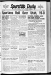 Spartan Daily, September 30, 1940 by San Jose State University, School of Journalism and Mass Communications