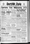 Spartan Daily, October 7, 1940 by San Jose State University, School of Journalism and Mass Communications