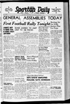 Spartan Daily, October 9, 1940 by San Jose State University, School of Journalism and Mass Communications