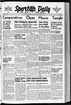 Spartan Daily, October 10, 1940 by San Jose State University, School of Journalism and Mass Communications