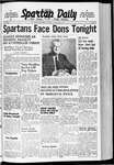 Spartan Daily, October 18, 1940 by San Jose State University, School of Journalism and Mass Communications