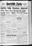 Spartan Daily, October 22, 1940