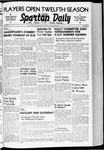 Spartan Daily, October 24, 1940 by San Jose State University, School of Journalism and Mass Communications