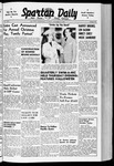 Spartan Daily, October 29, 1940
