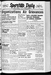 Spartan Daily, November 14, 1940 by San Jose State University, School of Journalism and Mass Communications