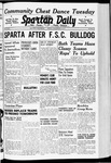 Spartan Daily, November 15, 1940 by San Jose State University, School of Journalism and Mass Communications