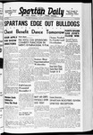 Spartan Daily, November 18, 1940 by San Jose State University, School of Journalism and Mass Communications