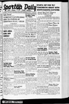 Spartan Daily, November 20, 1940 by San Jose State University, School of Journalism and Mass Communications