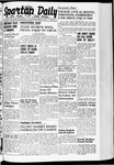 Spartan Daily, November 25, 1940 by San Jose State University, School of Journalism and Mass Communications