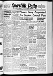 Spartan Daily, January 7, 1941 by San Jose State University, School of Journalism and Mass Communications