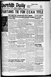 Spartan Daily, March 3, 1941 by San Jose State University, School of Journalism and Mass Communications