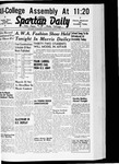 Spartan Daily, March 5, 1941 by San Jose State University, School of Journalism and Mass Communications