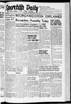 Spartan Daily, June 3, 1941 by San Jose State University, School of Journalism and Mass Communications