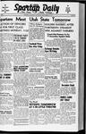 Spartan Daily, September 25, 1941