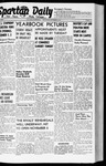 Spartan Daily, October 9, 1941 by San Jose State University, School of Journalism and Mass Communications
