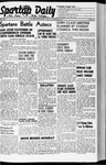 Spartan Daily, October 10, 1941 by San Jose State University, School of Journalism and Mass Communications
