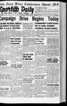 Spartan Daily, October 13, 1941 by San Jose State University, School of Journalism and Mass Communications
