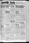 Spartan Daily, October 30, 1941 by San Jose State University, School of Journalism and Mass Communications