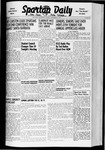 Spartan Daily, November 3, 1941 by San Jose State University, School of Journalism and Mass Communications