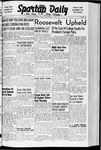 Spartan Daily, November 7, 1941 by San Jose State University, School of Journalism and Mass Communications