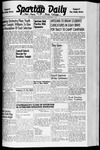 Spartan Daily, December 1, 1941 by San Jose State University, School of Journalism and Mass Communications
