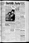 Spartan Daily, December 11, 1941 by San Jose State University, School of Journalism and Mass Communications