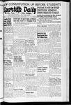 Spartan Daily, April 13, 1942 by San Jose State University, School of Journalism and Mass Communications