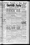 Spartan Daily, May 15, 1942 by San Jose State University, School of Journalism and Mass Communications