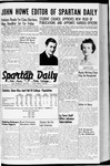 Spartan Daily, October 5, 1942 by San Jose State University, School of Journalism and Mass Communications