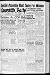 Spartan Daily, October 15, 1942