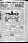 Spartan Daily, November 6, 1942 by San Jose State University, School of Journalism and Mass Communications