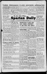 Spartan Daily, October 23, 1946 by San Jose State University, School of Journalism and Mass Communications